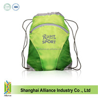 Beam port manually student backpack drawstring bag backpack