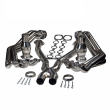 stainless steel long tube racing exhaust manifold forChevrolet Corvette 5.7L V8 Z06 LS1 / LS6 (C5 )