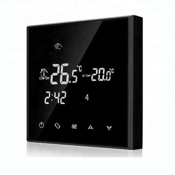 HY03AC-4 Digital Touch Screen Air Conditioning Thermostat,Fan Coil Thermostat