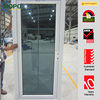 China Manufacturer main door design with plastic frame