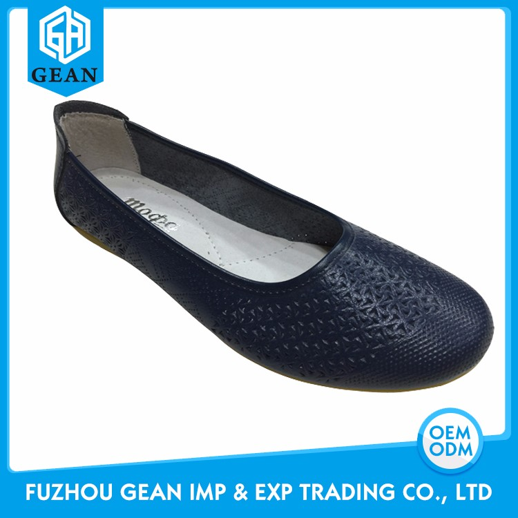 Daily Wearing Ballerina Styles OEM Shoes Women
