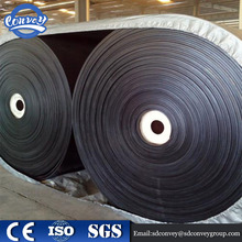 wholesale heat-resistant cheap old used Rubber conveyor belt 2 ply
