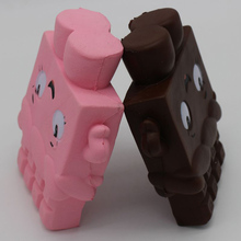 PU Low Resilience Recovery Emulation Chocolate Man Squishy Reduce Pressure Toy