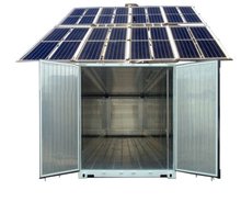 40 feet Solar Powered Refrigerator Container