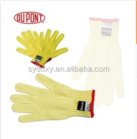 Kevlar gloves for dupont fabric