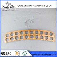 High Quality Wooden metal Hook New Arrival Plastic Scarf Hangers Wholesale