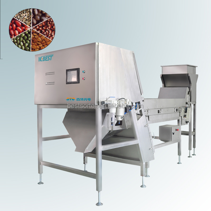 Digital dehydrated carrot accurate optical belt color sorter machine