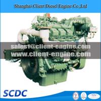 Brand new marine main engine Deutz TBD234 V6 diesel engines
