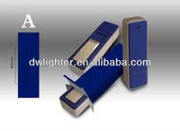 small classic usb electronic lighter with gift box