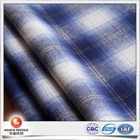 twill plaid flannel men dress shirts cotton fabric