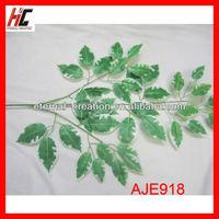 Artificial tree branches and leaves banyan tree leaves for funeral decoration