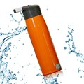sport Double wall 304 stainless steel vacuum water drinkware portable easy straw flask/thermos