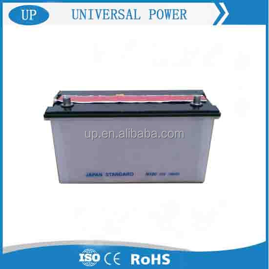12v 100ah Sealed Rechargeable Lead Acid Used Car Batteries for Sale