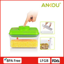 Manufacturer Supply Food Grade Plastic AS Material Airtight Container Organizer Storage Box