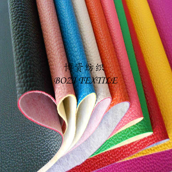 selling elastic pu microfiber leather for shoes
