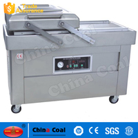 Best price Double Chamber Vacuum Packaging Machine For food,fruits,vegetables,meat,tofu