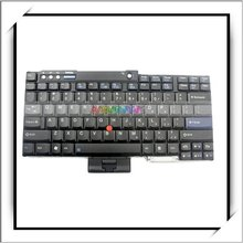 HOT! US For IBM Thinkpad Keyboard Layout R60 T60 Z60 T61 R61 Laptop Black -N7208BL