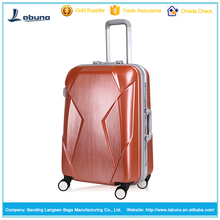 High quality 360 rolling luggage bag aluminum check-in luggage case