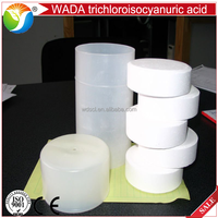 Swimming pool chlorine tablets trichloroisocyanuric acid / chlorine TCCA 90%