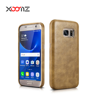 XOOMZ PU Leather Phone Case Cover for Samsung Galaxy S7 Ultra Thin Back Cover