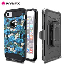 For iphone 7 plus case Hybrid Rugged Armor Shockproof phone case, For iphone 7 plus customized printing cell phone accessories