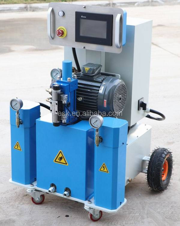 FD-211B hydraulic pu foam spray insulation reactor machine