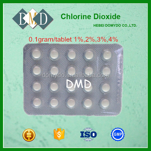 0.1g/tablet Chlorine Dioxide Tablet Water Purification Tablet