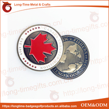 Cheap Custom Canada Challenge Coins For Sale Antique