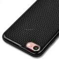 DFIFAN Air grid case for iphone 8 plus DIY Cross stitch Phone back cover for iphone 8