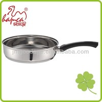 Good quality New 24cm Stainless Steel Saucepan Frying pan, stainless steel cookware