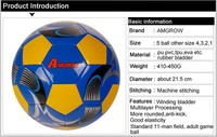 machine cheapest stitched laser metallic pvc soccer ball/football supplier