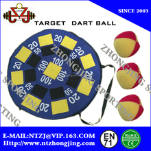 Cheap Popular inflatable Dart game with 3 catch ball