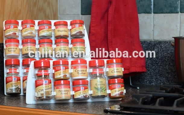 time delivery guaranteed. China supplier design spice rack inside cupboard door