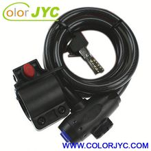 J074 bicycle lock with combination