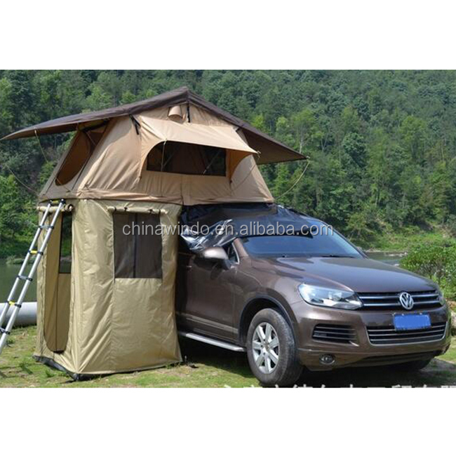 4wd roof top camper with jeep top pop up change room