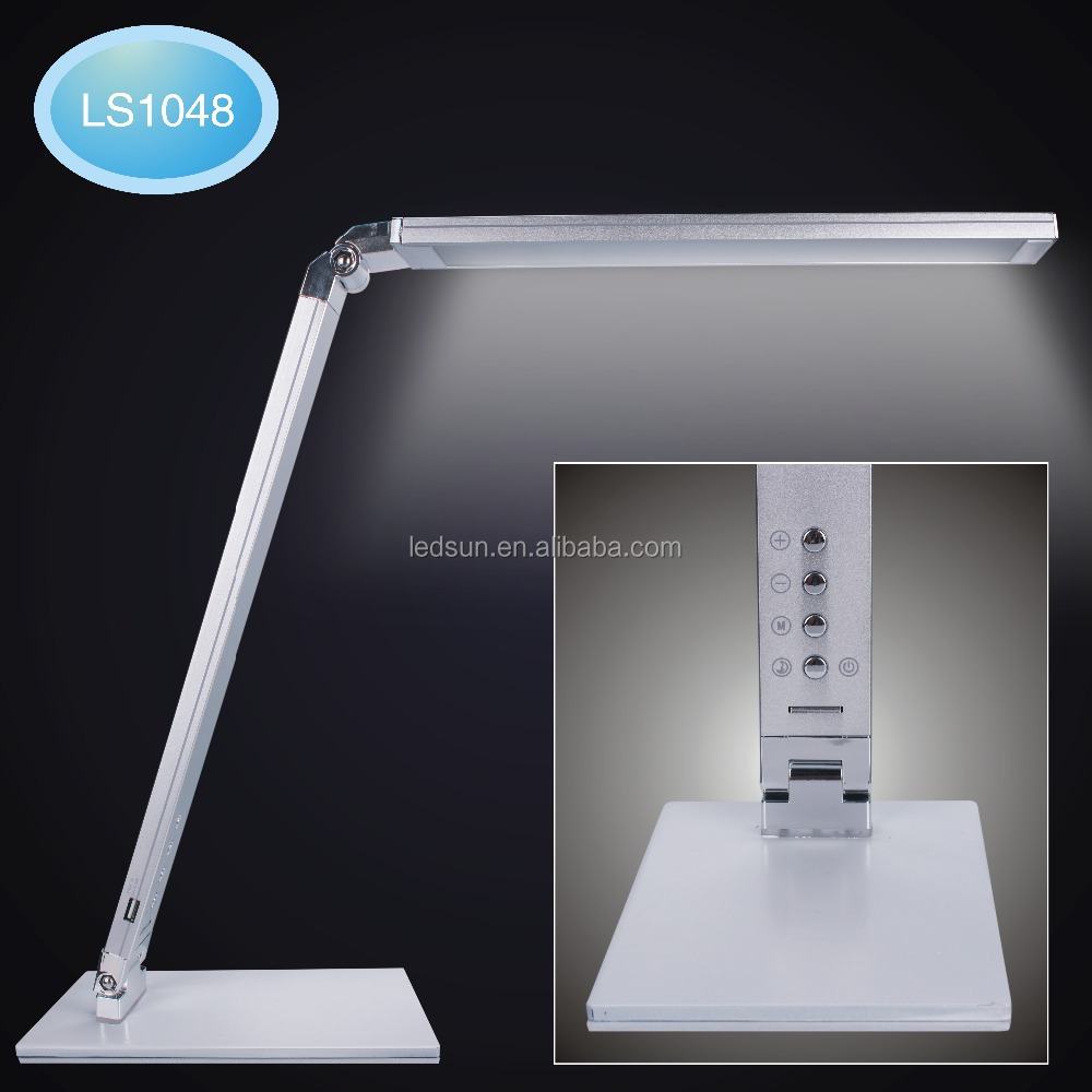 Touch sense switch foldable USB charging LED desk lamp with CE ROHS