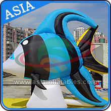 custom inflatabe fish toys advertising inflatable marine animals promote