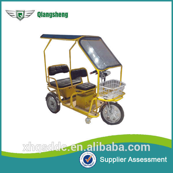 China low price bajaj auto rickshaw three wheel electric passenger car