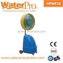 Industrial spray water cooling fan for outdoor use