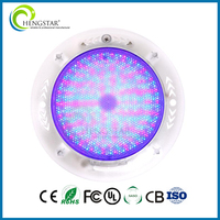 waterproof color changable surface mount swimming pool led color changing lights