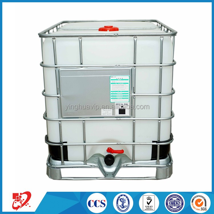 UN certification-chemical stainless steel ibc container