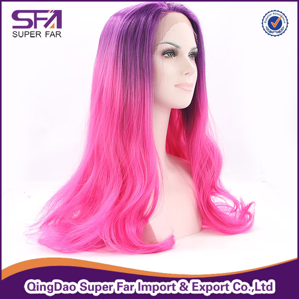 Popular front lace wig sell well