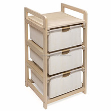 HM166016 Modern Style Eco-friendly Nursery Furniture With Color Drawer