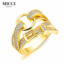 Latest model creative belt buckle tide jewelry daily wear gold finger ring rings design for women with price