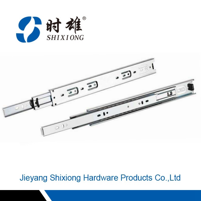 made in china king telescopic channel rail ball drawer slides