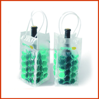 Fashion Customized Clear Ice Beer Bottle Cooler Bag