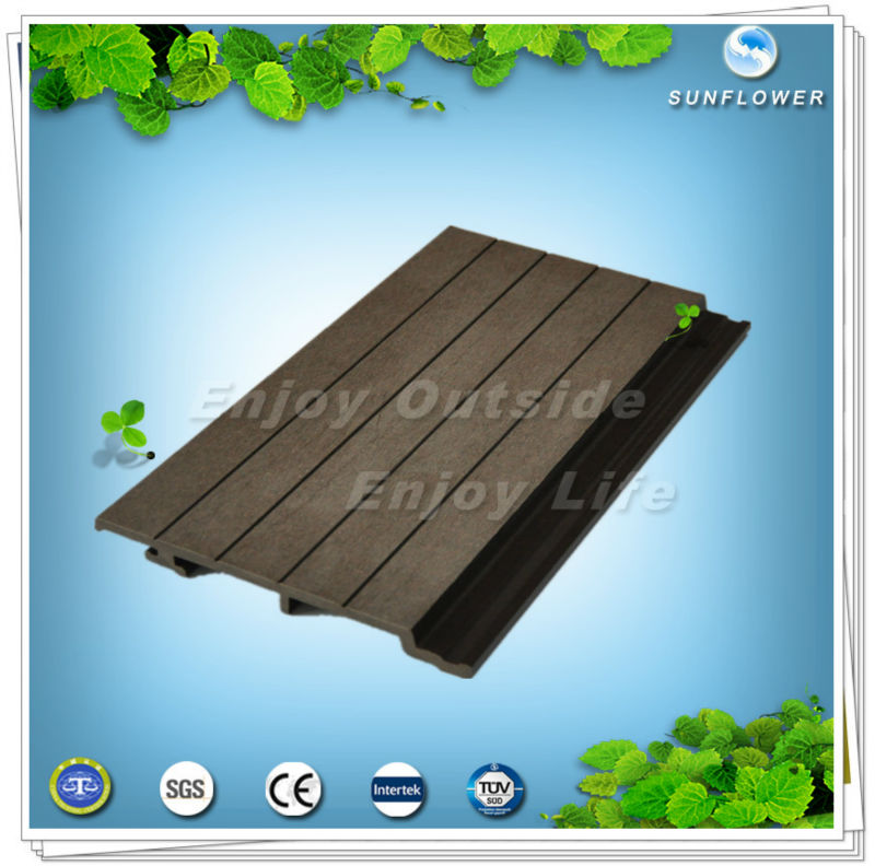 exterior wall cladding with wpc wall panel /wood plastic composite wall siding panels/wpc wall