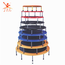 Multicolor adults jumping fitness mini 50 ft trampoline