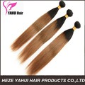 Indain Remy Hair Extension,18-30 Inch 6A Silky Straight Mixed Color Dip Dye 3 Tone Ombre Color Human Hair Weft