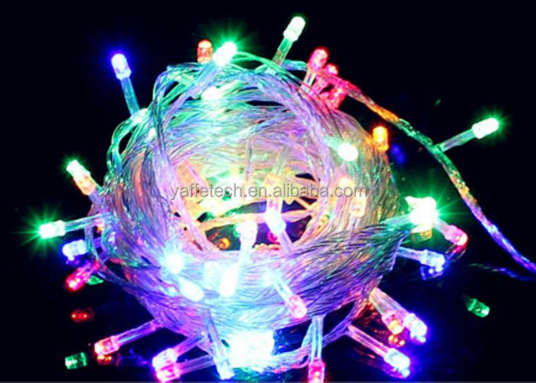 Christmas Ornament Blinking Led Copper Wire String Lights